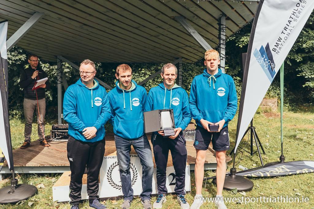 2018 Sprint Triathlon Allergan Relay Winners - Defenders