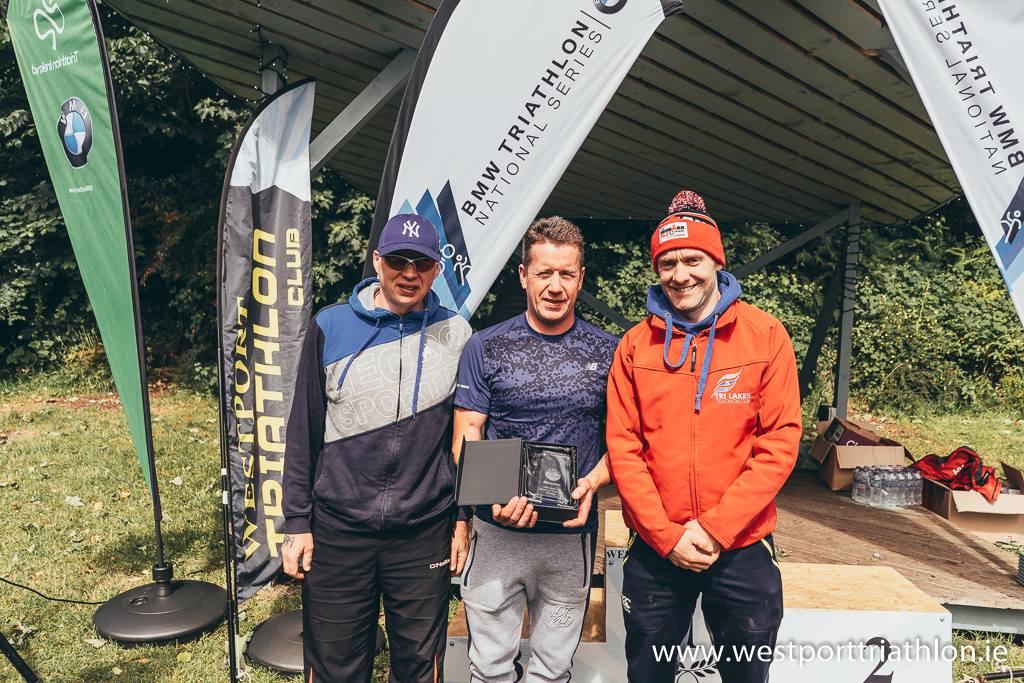 2018 Sprint Triathlon Relay Winners -The Con Men